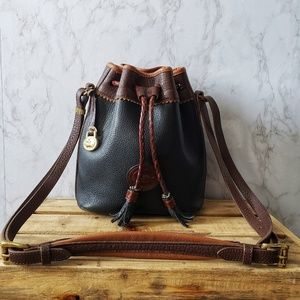 Dooney & Bourke Vintage Teton Bucket Bag